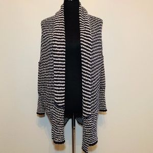 Free People striped open cardigan sweater - size S